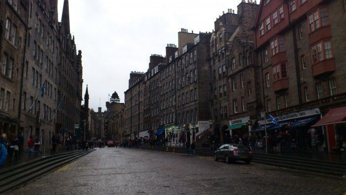 Royal Mile Edimburgo Escocia Reino Unido