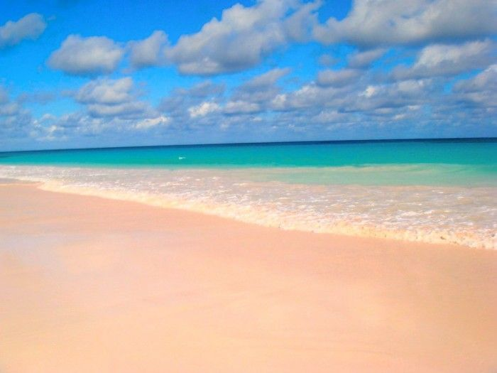 Pink Beach. Mejores playas del Caribe