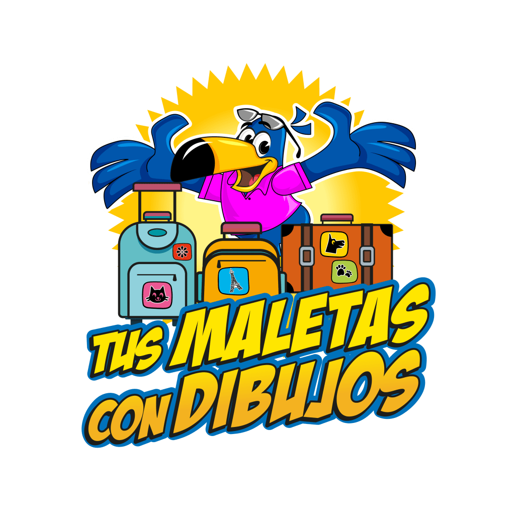 Maletas con dibujos. Los Viajes de Domi